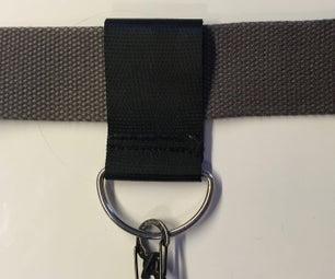 Belt Loop Key Ring