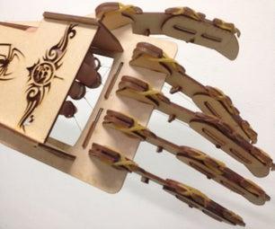 Laser-cut Mechanical Claw