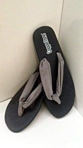 Easy Fabric Flip Flops