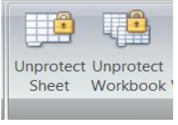VBA Code To Unlock A Locked Excel Sheet