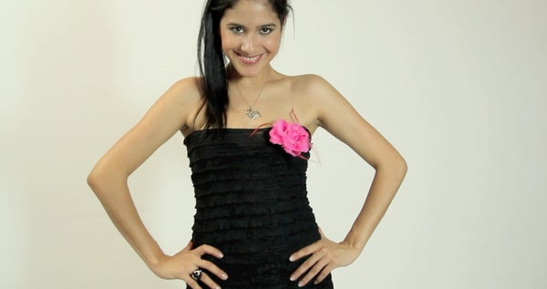 Make Your Own Stylish Strapless Dress