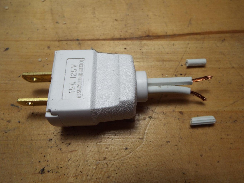 Assembling the X10 Output Plug