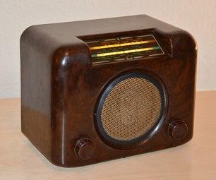 Retro-Mod - Bluetooth Speaker Madness