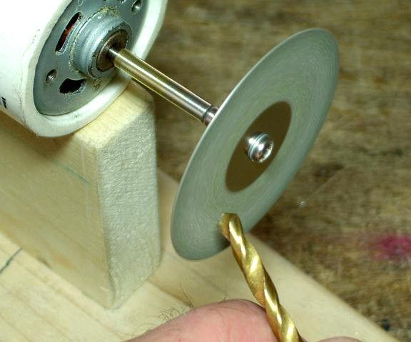 Mini Diamond Grinding Disk for Drill Bits