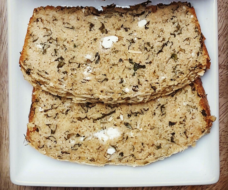 Kale and Feta Spelt Bread