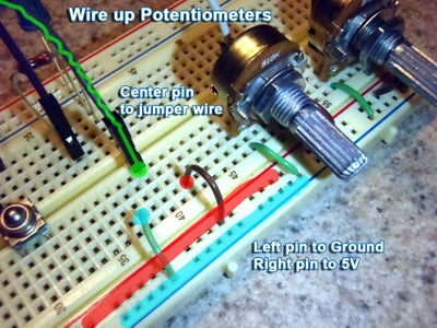 Connect Potentiometers