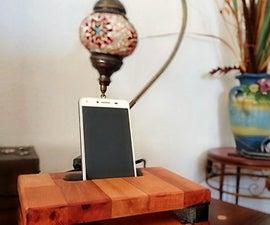 DIY Acoustic Smartphone Amplifier (Wooden Passive  Speaker)