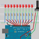 Arduino Workshop-Interactive LED Chase Effect