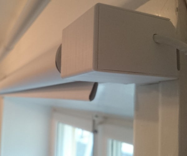App and Timer Controlled Automatic Blinds