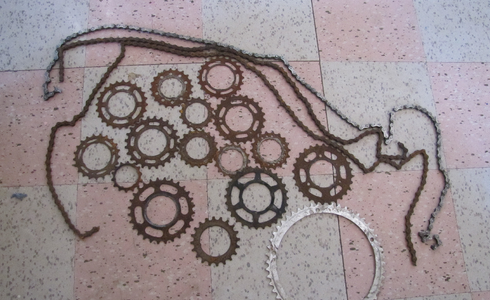 Preparing and Arranging the Sprockets