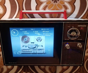 1975 Hitachi Pi Info-TV