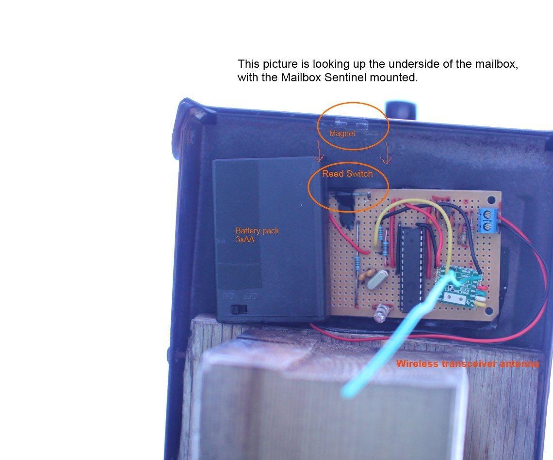 Mailbox Sensor Email and Alarms