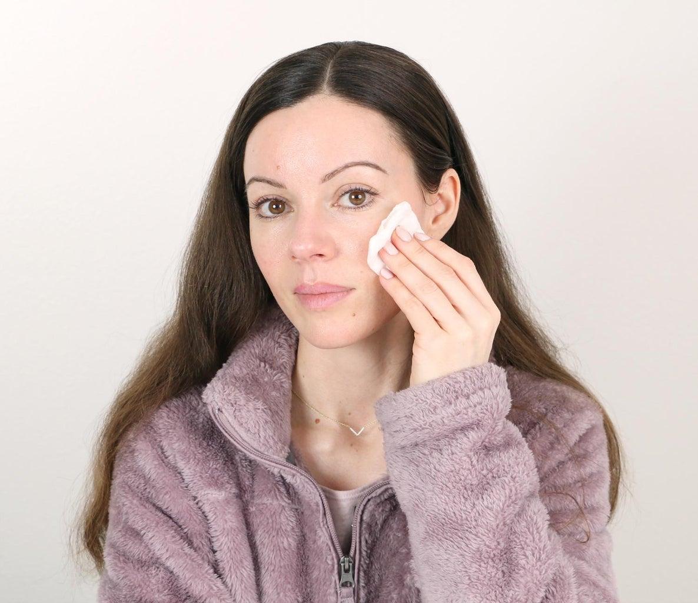 Cleanse & Prep the Skin
