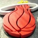 Miami Heat 3D Logo