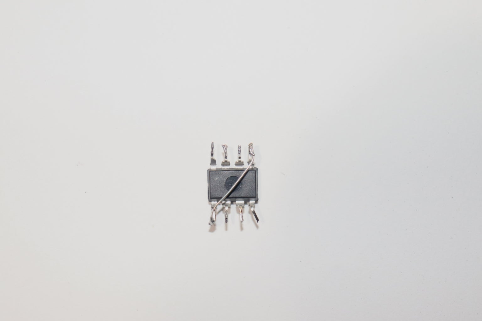 Connect Pin-4 and Pin-8 of LM555 IC