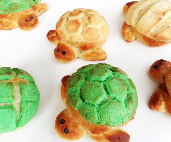 Turtle Bread: Tortuga Conchas