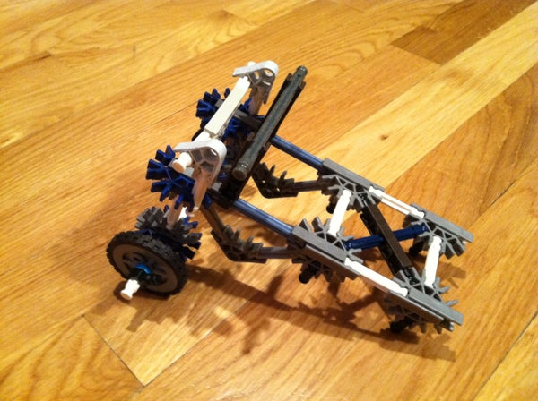 Sphero Chariot Out of Knex