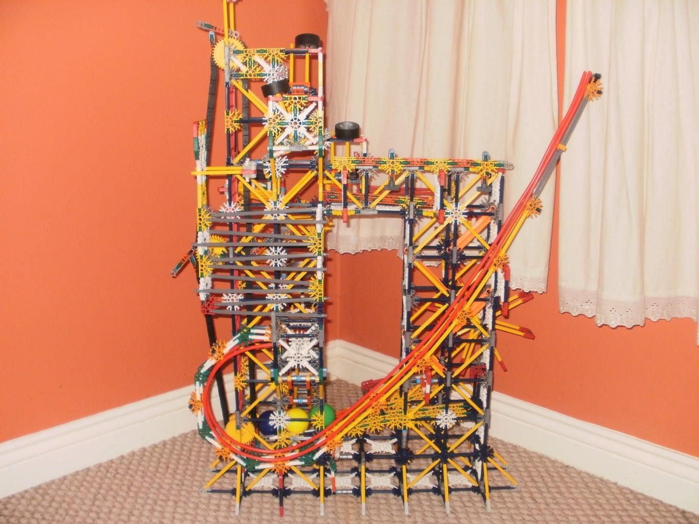 Knex Ball Machine - Project Ballatron.