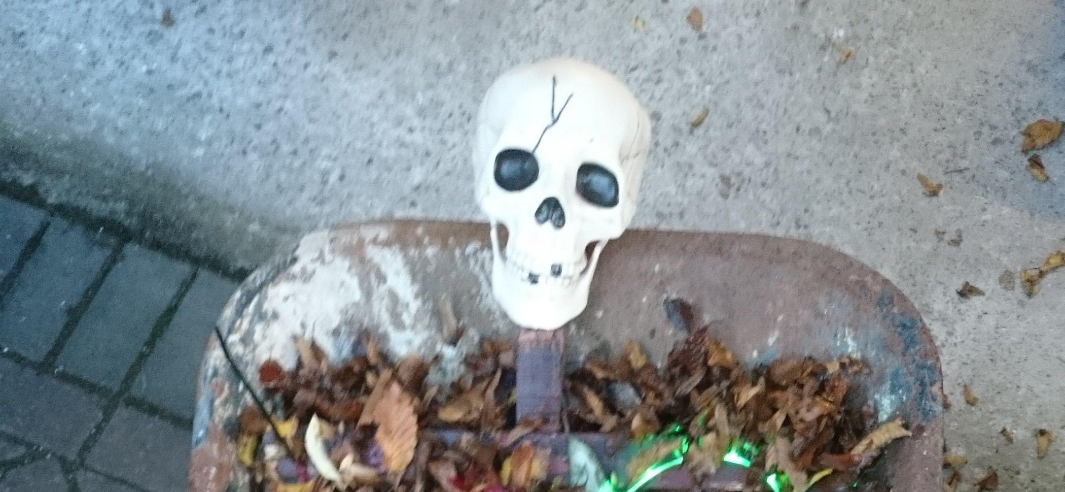 Great Halloween Yard Decoration for Under $20.
