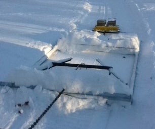 Grooming a Cross Country Ski Trail