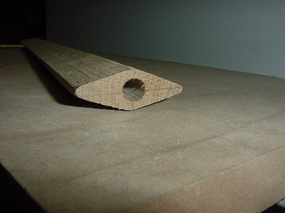 Step 2: Make a Hole for Doweling the Pommel