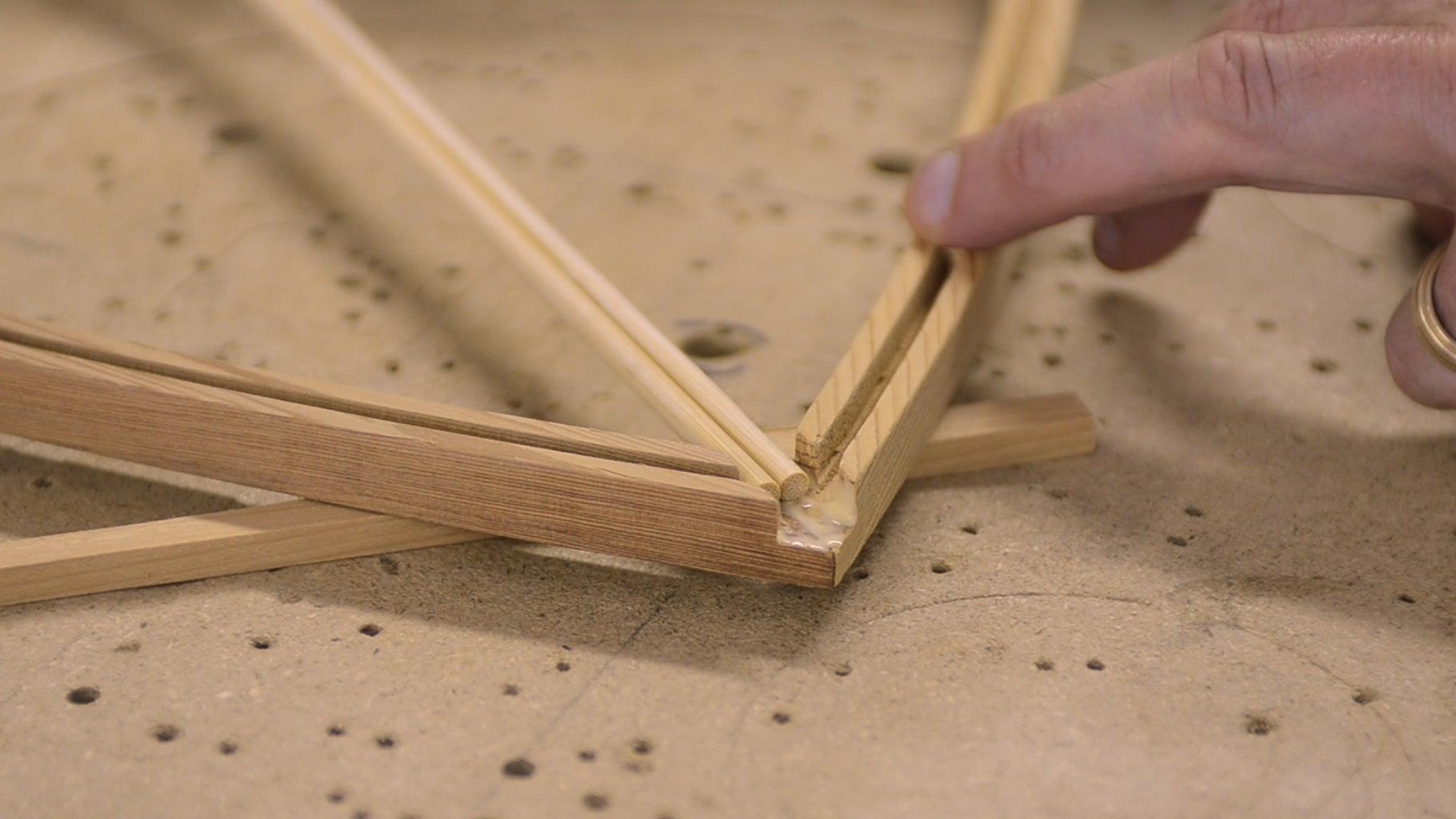 Assembling the Shade Frame