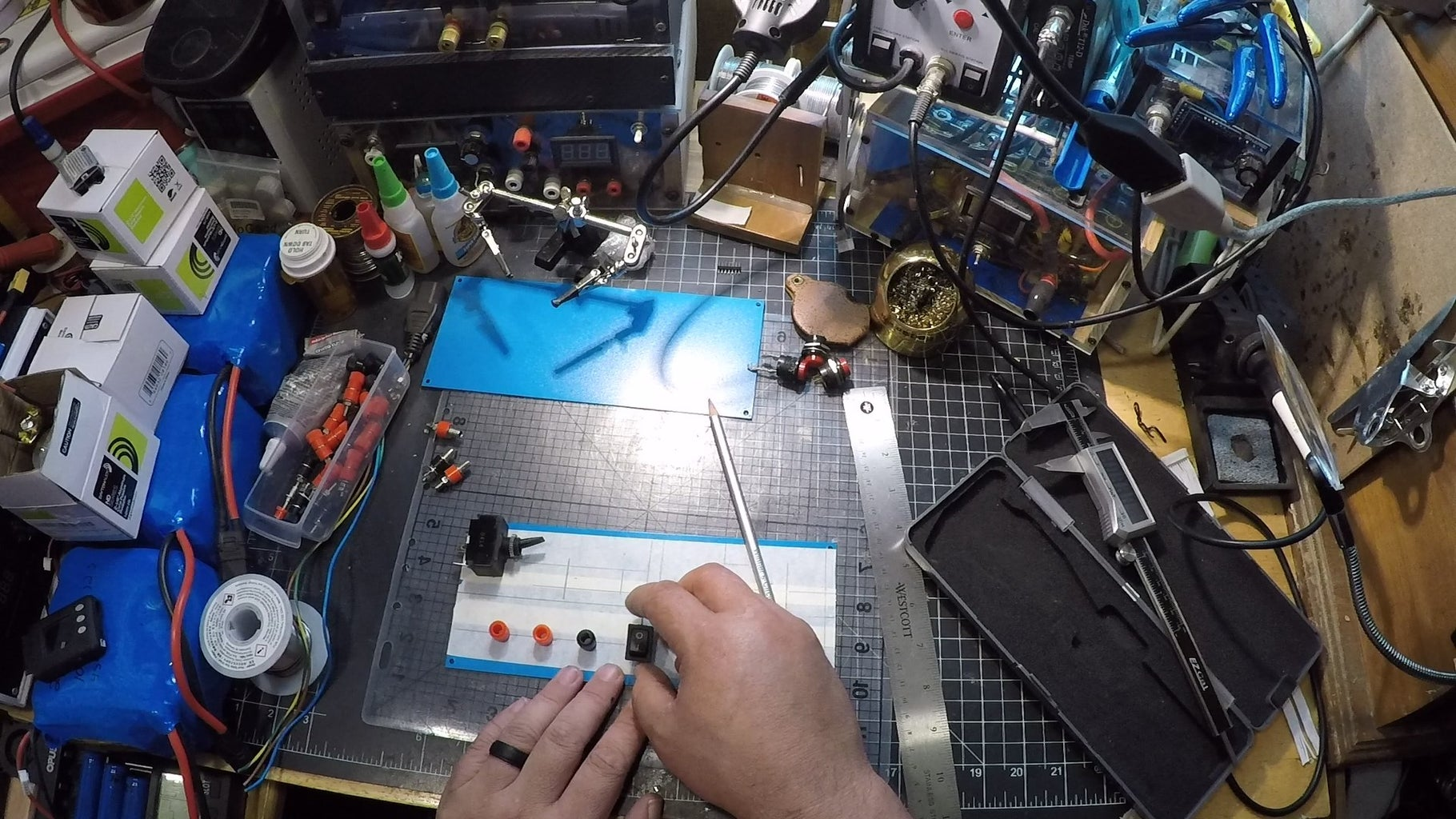 Mark & Drill Holes for the Front Panel