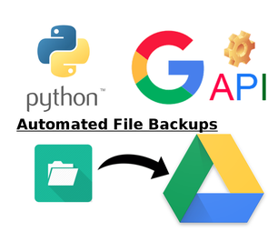 Automated Google Drive File Backup [Python - Google API - Service Account - Linux]
