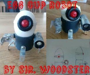 Robot Egg Cup