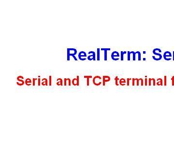 RealTerm Data Logger