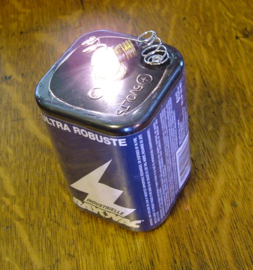 6v railroad lantern battery emergency lighting
