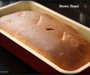 Brown Bread Baked in Convection Oven