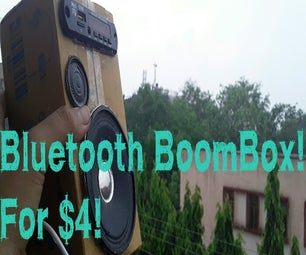 USB Bluetooth BoomBox for $4!