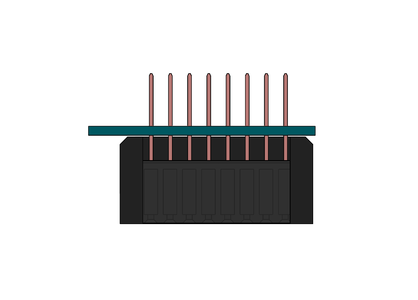 Soldering the Header Pins (using the SOCKET JIG)