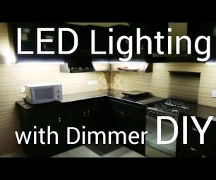 LED Lighting for Home With Dimmer: DIY