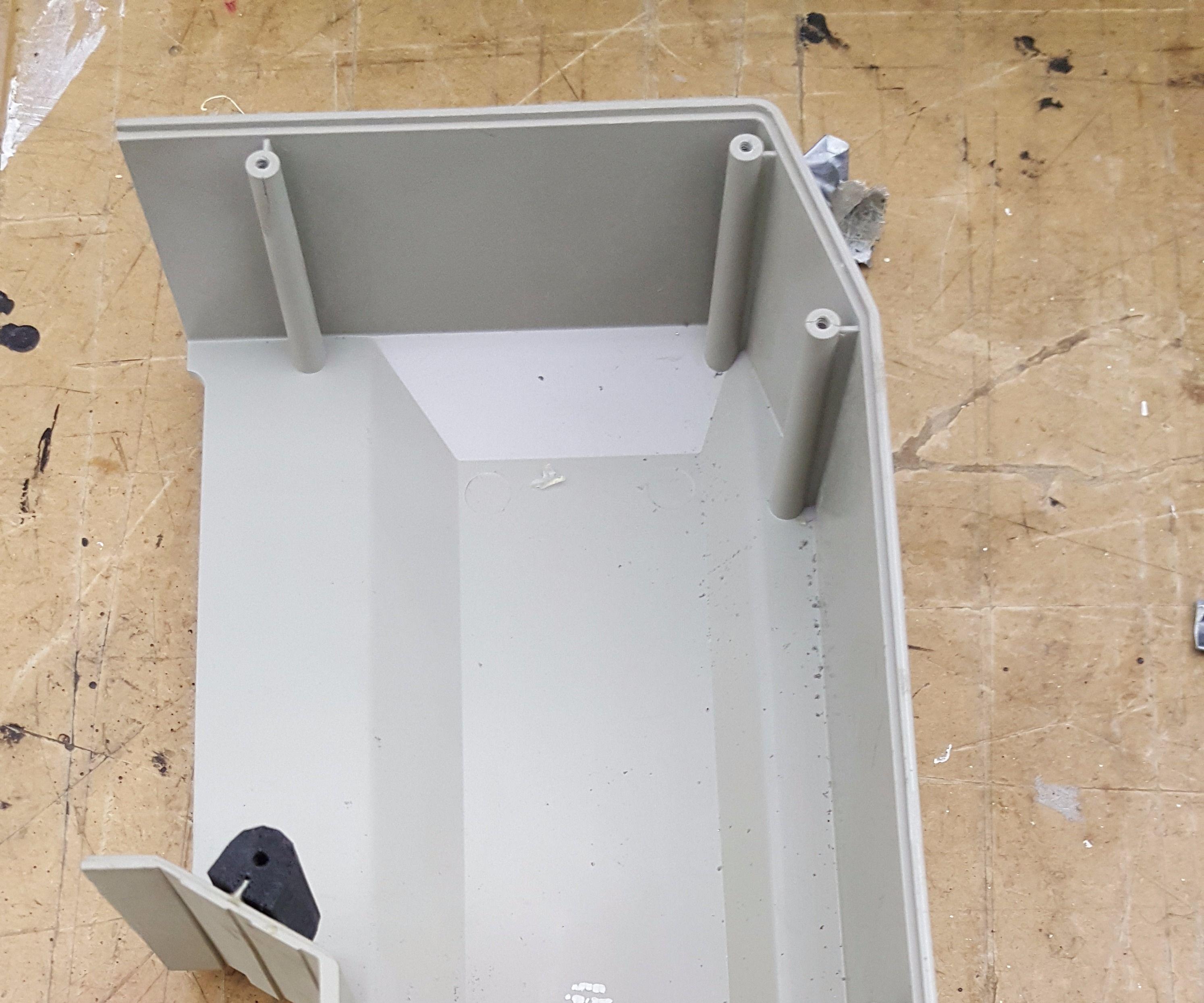 3D Printed Insert to Repair Boss. Made in Techshop Detroit
