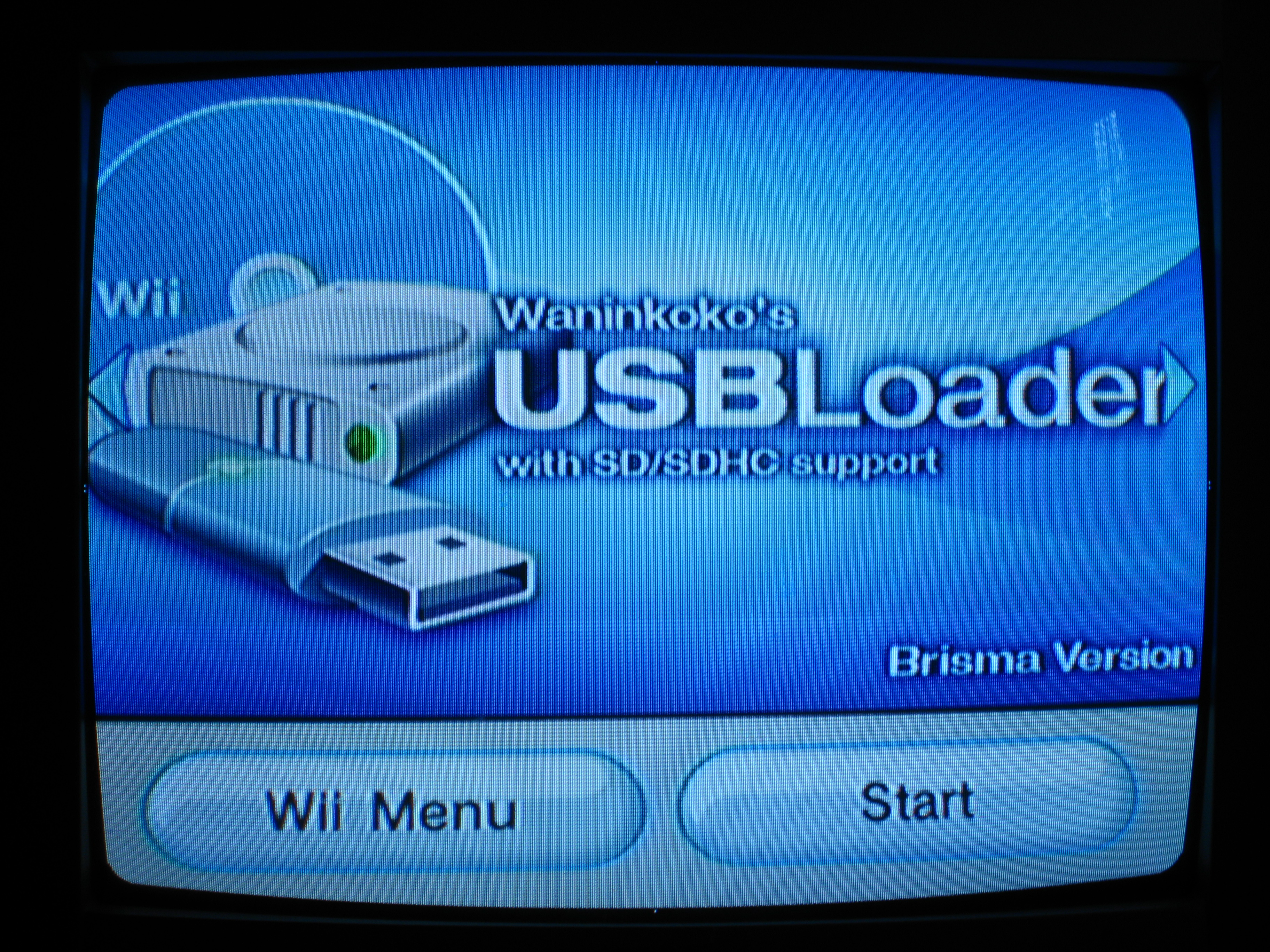 How to play Wii backups from a usb stick with no modchip.