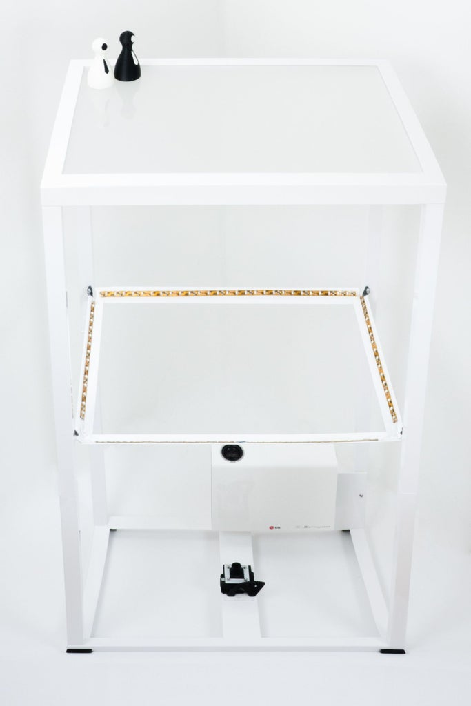 Building the Table - Illumination - LED IR Stripes