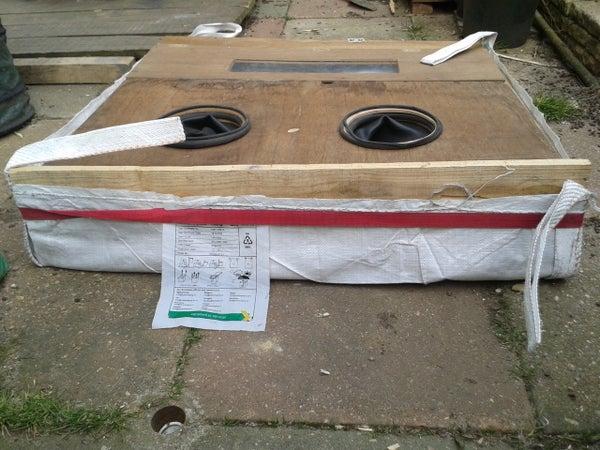 Collapsable / Folding Media Blast Cabinet / Enclosure