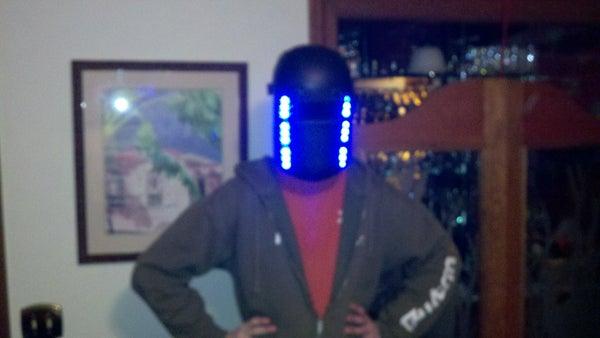 How to Make a Super-Bad Rave Mask (LED)