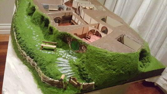 Hand Made Bagend - a Hobbit Hole