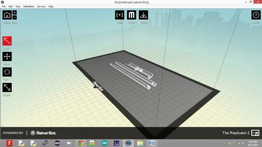 3D Printed Pen