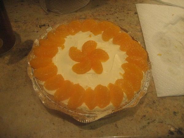 Mandarin Orange Cheesecake:)