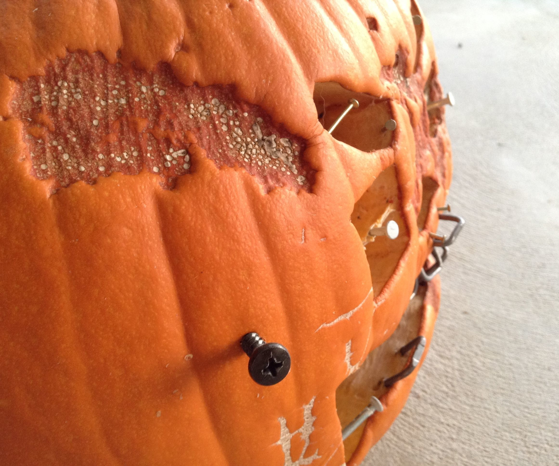 Extreme Pumpkin Carving: Frankenstein Style