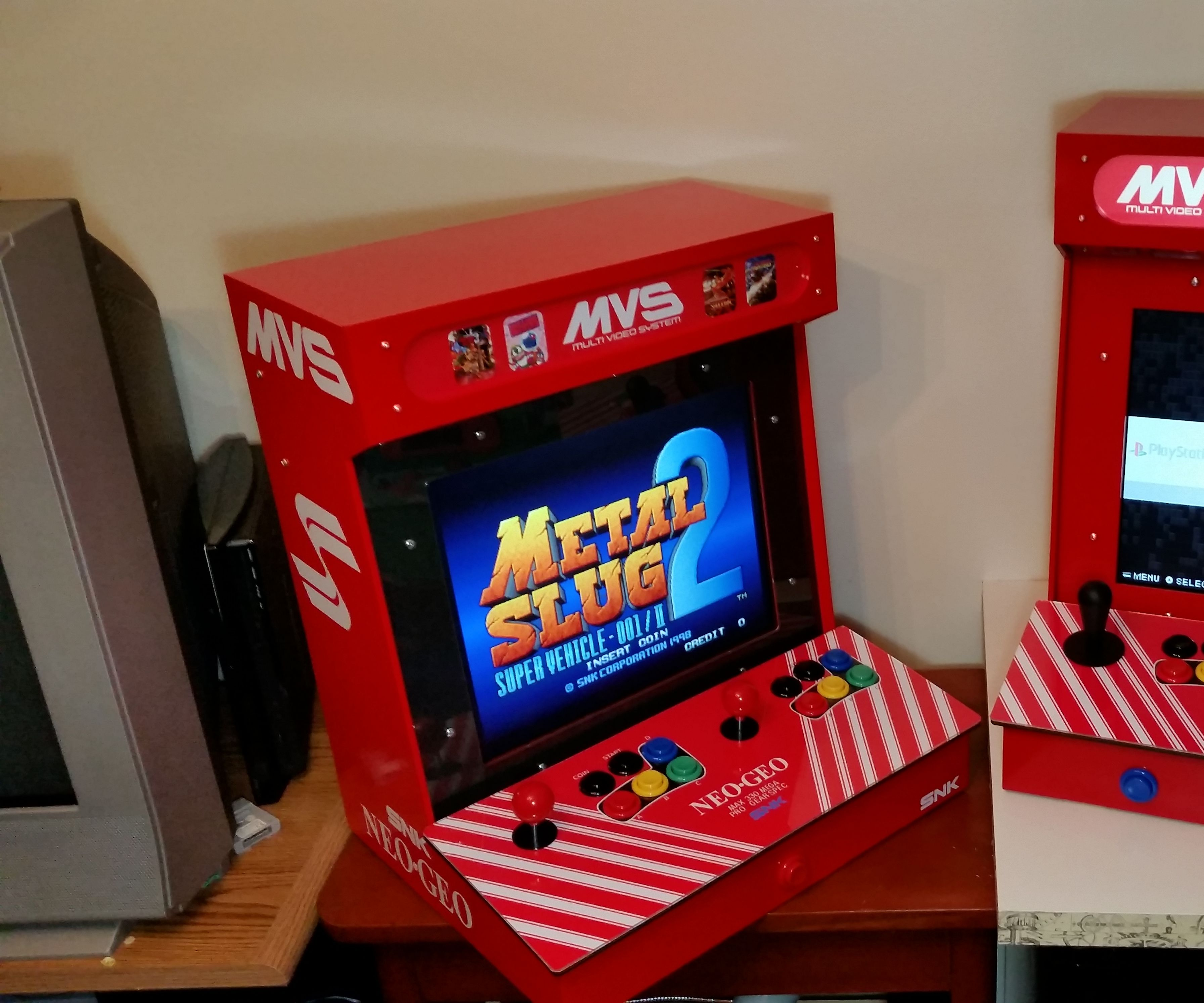 """Desktop Raspberry Pi Arcade With a Discarded 17"""" LCD"""