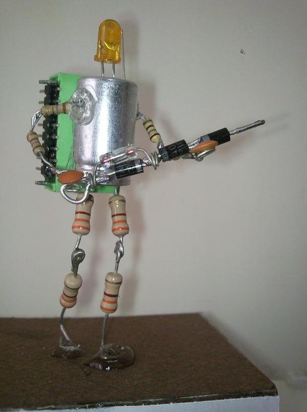 Electronic's Statuette