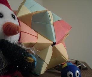 Nice Origami Icosahedron