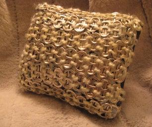 Pop Tab Pillow
