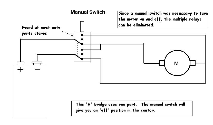 Simplified 'H' Bridge