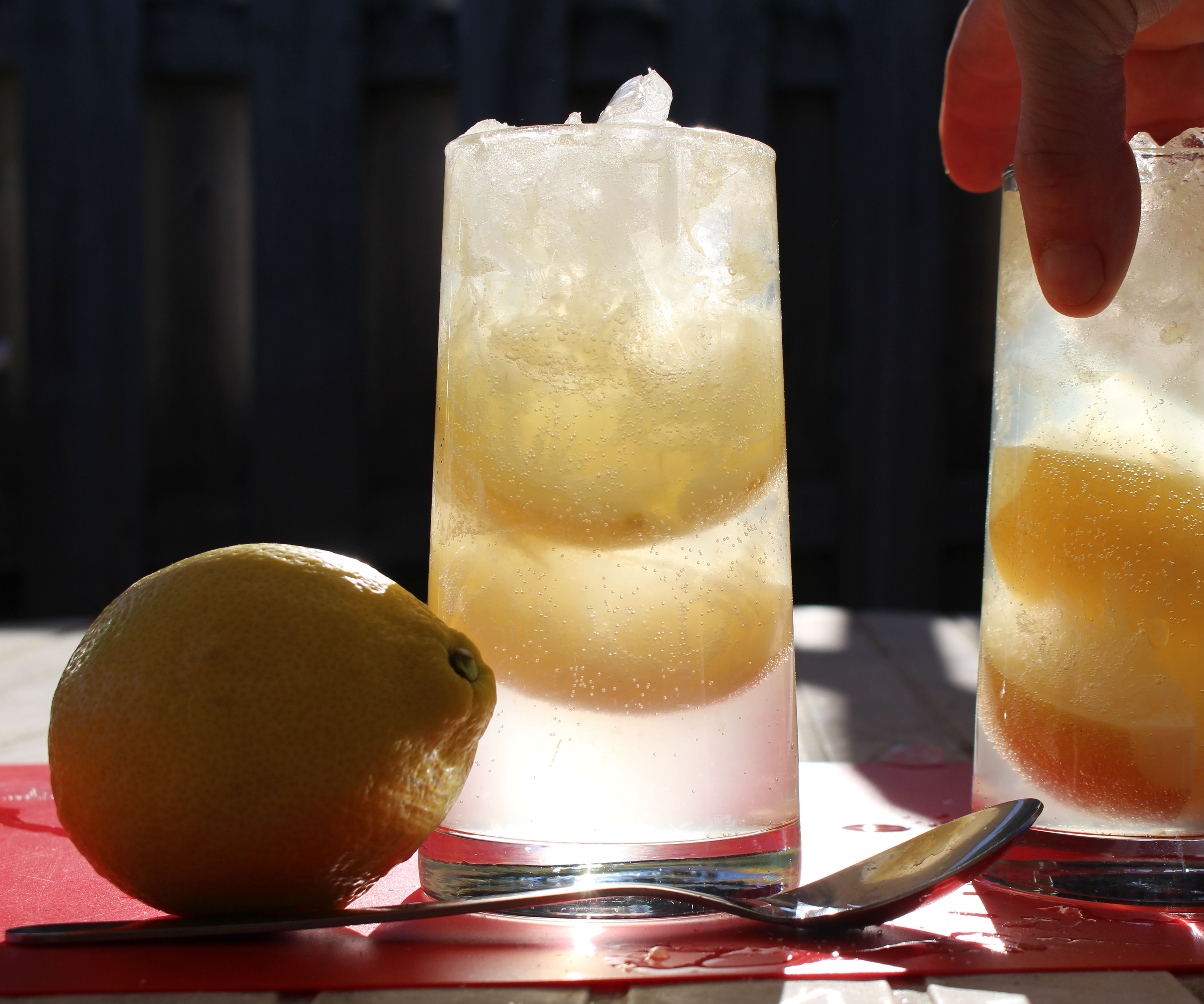 Sparkling Salty Lemonade - Soda Chanh Muối